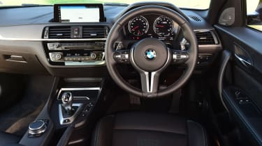 bmw m2 competition interior