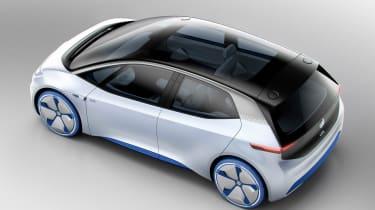 Volkswagen ID Concept - overhead