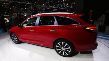 Hyundai i30 Tourer Geneva - rear