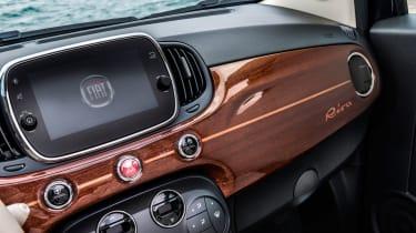 Fiat 500 Riva - dashboard