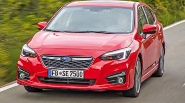 Safest cars for sale in the UK - Subaru Impreza