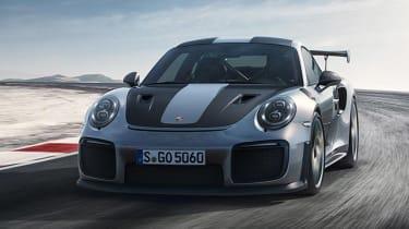 Porsche 911 GT2 RS - front cornering