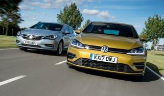 Volkswagen Golf vs Vauxhall Astra
