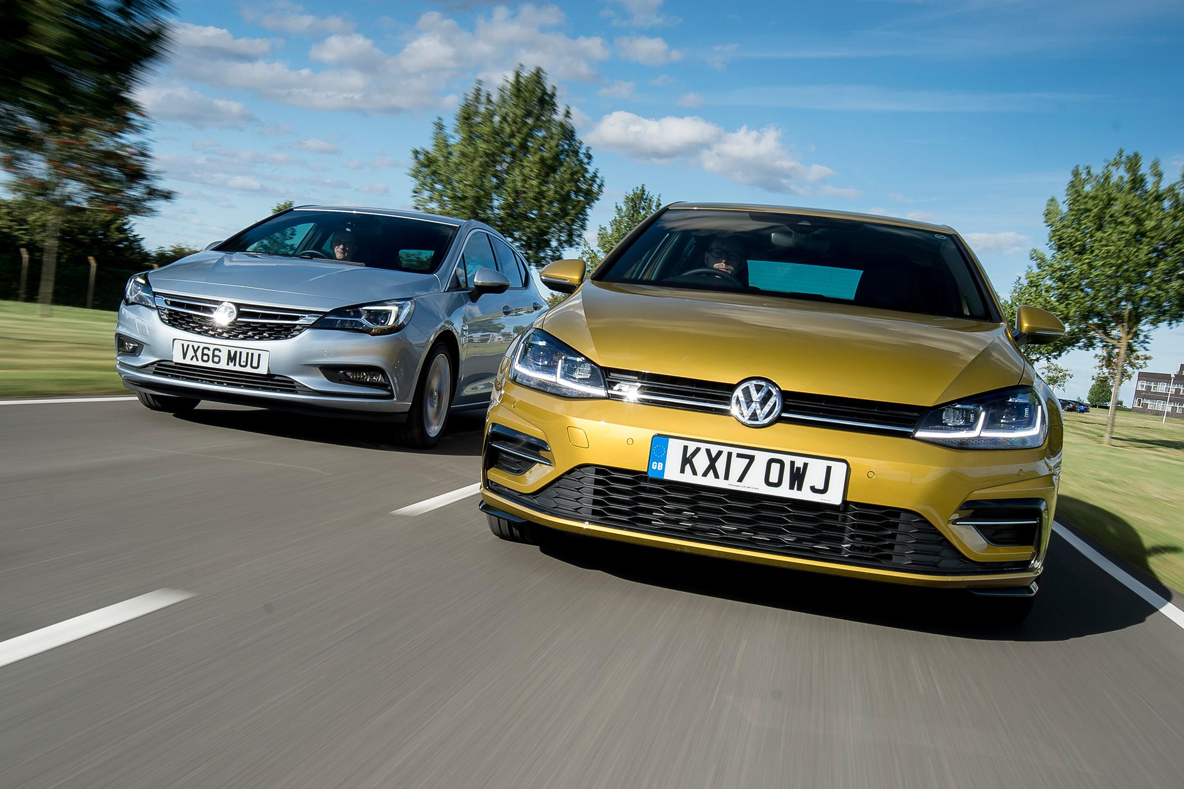 Volkswagen Golf Vs Vauxhall Astra Auto Express