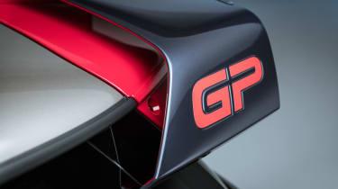 MINI John Cooper Works GP - rear wing