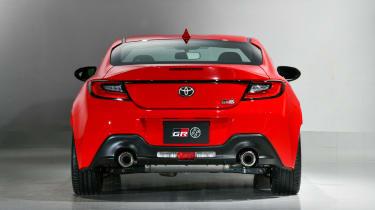 Toyota GR86 rear