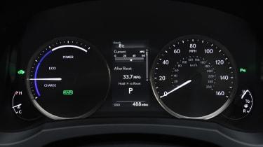 Lexus RC - dials