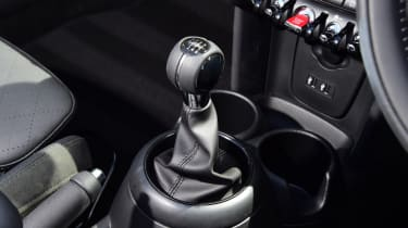 Mini Cooper Convertible Gearstick