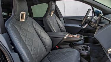 BMW iX prototype - front seats