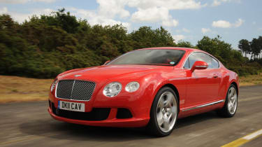 Bentley Continental GT front track