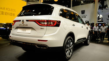 """The Koleos is described as """"<span>every inch an SUV and every inch a Renault.""""</span>"""