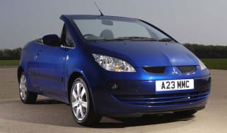 Front view of Mitsubishi Colt CZC