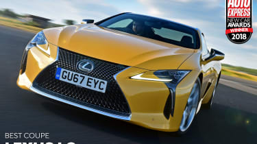 Lexus LC - Coupe of the Year 2018