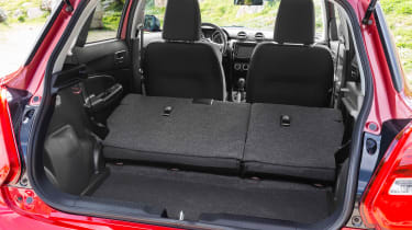 New Suzuki Swift 2017 - boot seats down