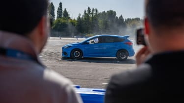 Ford Focus RS hard brakes