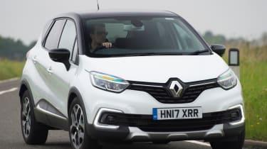 Most economical SUVs Renault Captur