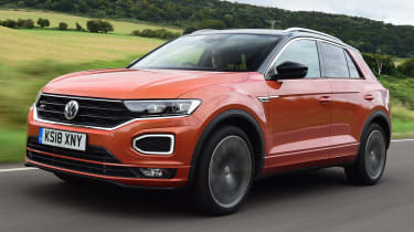 vw t-roc tracking front