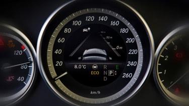 Mercedes E-Class dials