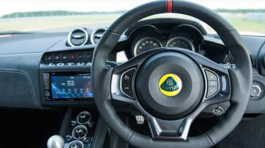 Lotus Evora 400 steering wheel