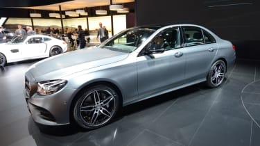 Mercedes E-Class - show front quarter