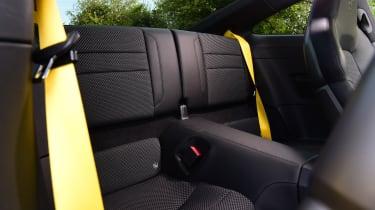 Porsche 911 - rear seats