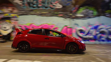 Honda Civic Type R long term - third report side tracking