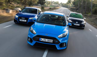 Focus RS vs RS3 vs Golf R - header