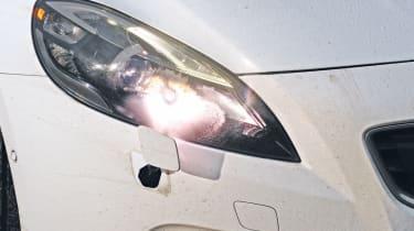 Volvo V40 headlight washer