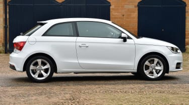 New Audi A1 2015 side