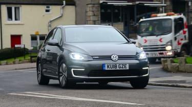 VW e-golf cornwall to scotland