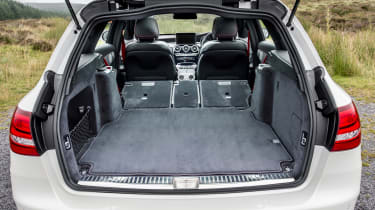 Mercedes-AMG C 43 Estate 2016 - boot seats down