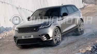 Range Rover Velar - leaked front action