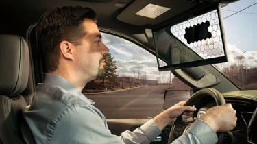 Bosch virtual visor - man