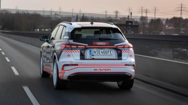 Audi Q4 e-tron prototype - rear action