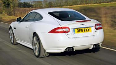 Jaguar XKR rear tracking
