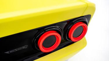 Opel Manta GSe ElektroMOD - rear light detail