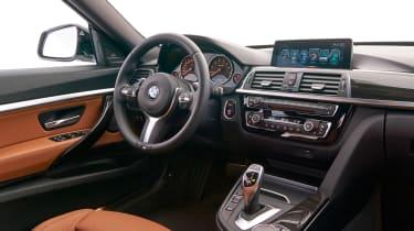 BMW 340i GT - interior