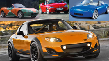 Mazda MX-5 25 years in pics