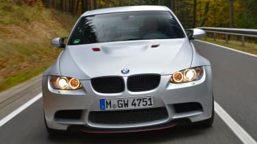 BMW M3 CRT front tracking