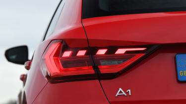Audi A1 - rear lights