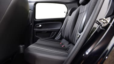 SEAT Mii electric UK - rear seats