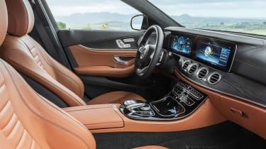 Mercedes E-Class Estate - interior
