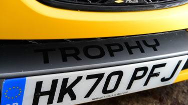 Renault Megane R.S. 300 Trophy - Trophy badge