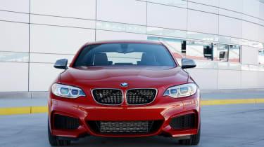 BMW M235i 2014 front