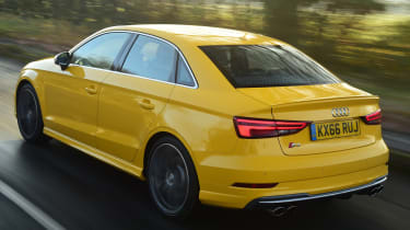 Audi S3 Saloon 2017 - rear tracking