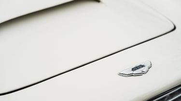 Electric Aston Martin DB6 Mk2 Volante - front badge