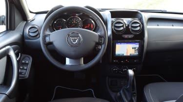Dacia Duster facelift - dash