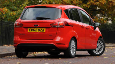 Ford B-MAX rear cornering