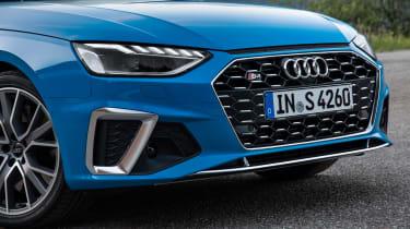 2019 Audi S4 saloon grille