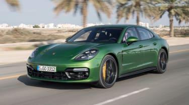 Porsche Panamera GTS - front action